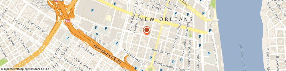 Route/map/directions to Flex, 70113 New Orleans, 700 BARONNE STREET