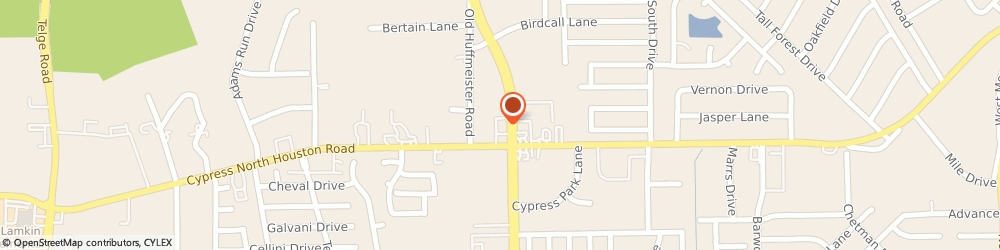 Route/map/directions to Walgreens, 77429 Cypress, 12025 Huffmeister Rd