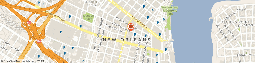 Route/map/directions to Knights Of Columbus - Marquette Council No 1437, 70130 New Orleans, 314 SAINT CHARLES AVENUE