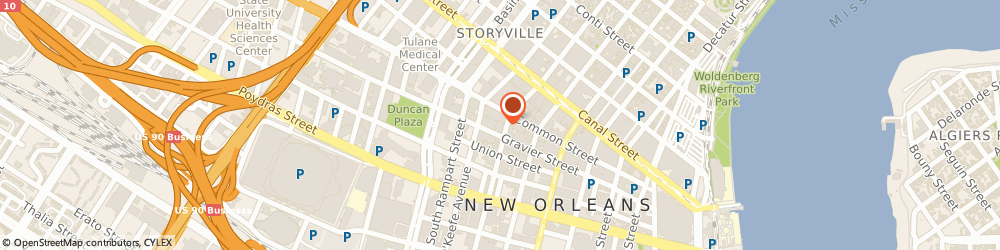 Route/map/directions to Goodwill Industries Of Southeastern La Inc - Home Pick-Up, 70112 New Orleans, STREET