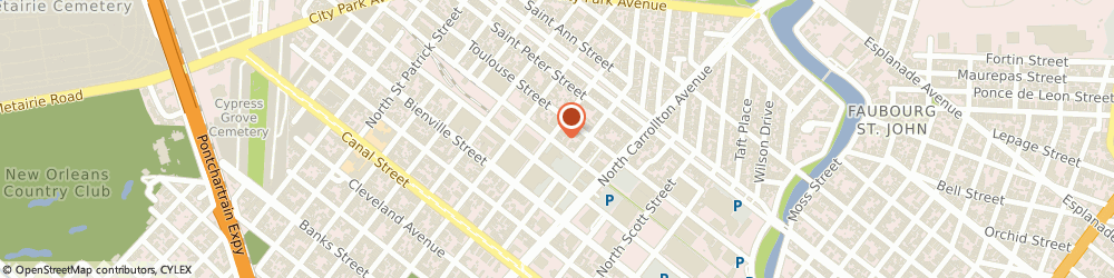 Route/map/directions to Ricca Demolishing Corp, 70119 New Orleans, 502 N SOLOMON ST