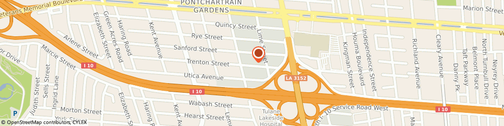 Route/map/directions to Advanced Electrical & Data Services, 70006 Metairie, 4729 Trenton St