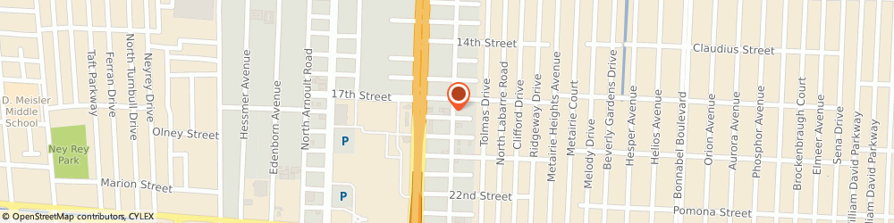 Route/map/directions to Abel Furs, 70112 New Orleans, 3232 RIDGELAKE DRIVE