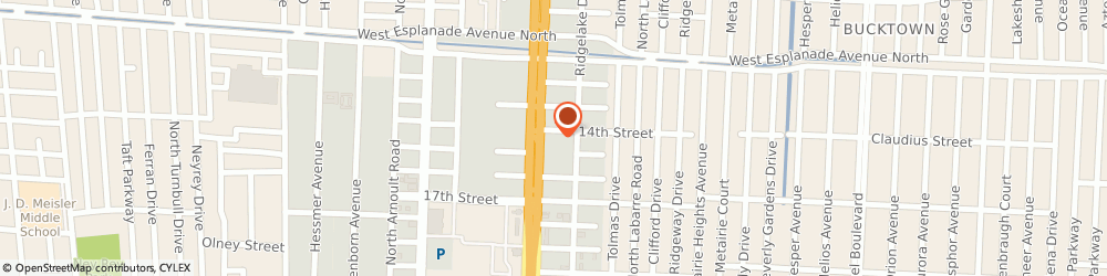 Route/map/directions to Public Safety Management Group, LLC., 70002 Metairie, 3421 N Causeway Blvd