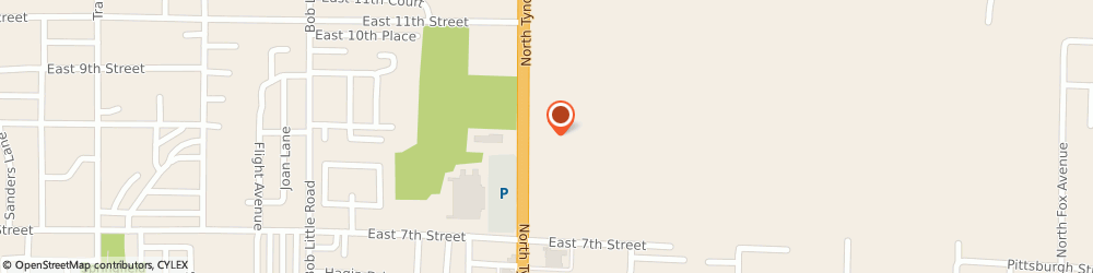 Route/map/directions to Trendz Hair Salon, 32404 Callaway, 850 N Tyndall Pkwy