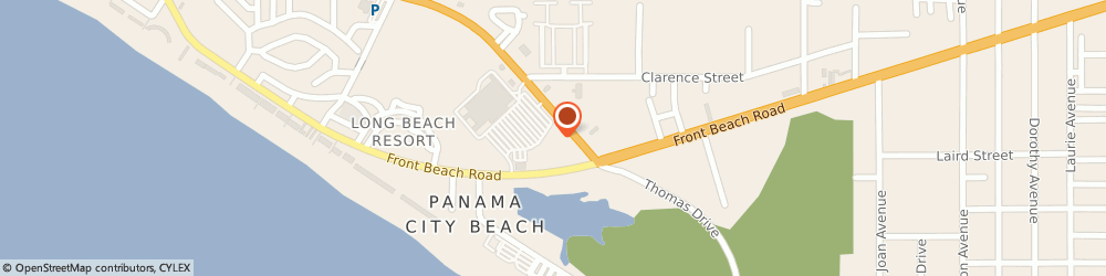 Route/map/directions to SmartStyle, 32407 Panama City Beach, 10270 Front Beach Rd
