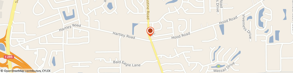 Route/map/directions to Bank of America, 32202 Jacksonville, 10560 SAINT AUGUSTINE RD # OLD