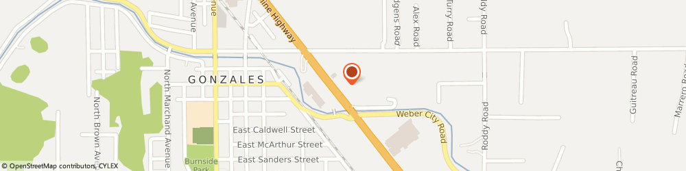 Route/map/directions to Wendy's, 70737 Gonzales, 816 North Airline Highway