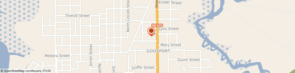 Route/map/directions to U-Haul Co., 70601 Lake Charles, 1601 WENDELL ST