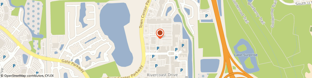 Route/map/directions to Bank of America, 32246 Jacksonville, 4612 TOWN CROSSING DR