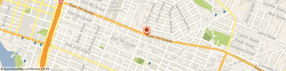 Route/map/directions to DIRECT GENERAL, 78702 Austin, 1901 East Seventh Street