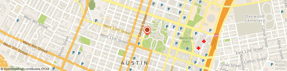 Route/map/directions to Texas Trial Lawyers Association, 78701 Austin, 1220 Colorado, Suite 500