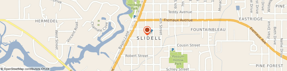 Route/map/directions to University Of New Orleans, 70458 Slidell, 2050 1ST ST