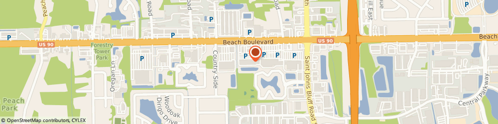 Route/map/directions to Woodcraft of Jacksonville, 32246 Jacksonville, 11160 Beach Blvd