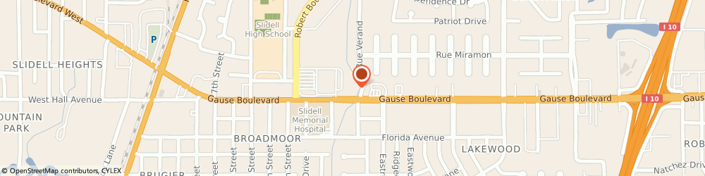 Route/map/directions to Dairy Queen Grill & Chill, 70458-3012 Slidell, 1130 Gause Blvd