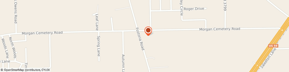 Route/map/directions to Valero CLEVELAND, 77328 Cleveland, 10805 Fostoria Rd