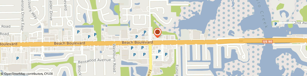 Route/map/directions to BBVA Bank, 32250 Jacksonville, 14381 Beach Boulevard
