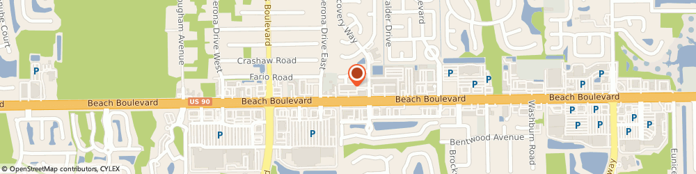 Route/map/directions to Wells Fargo ATM, 32224 Jacksonville, 13799 Beach Blvd
