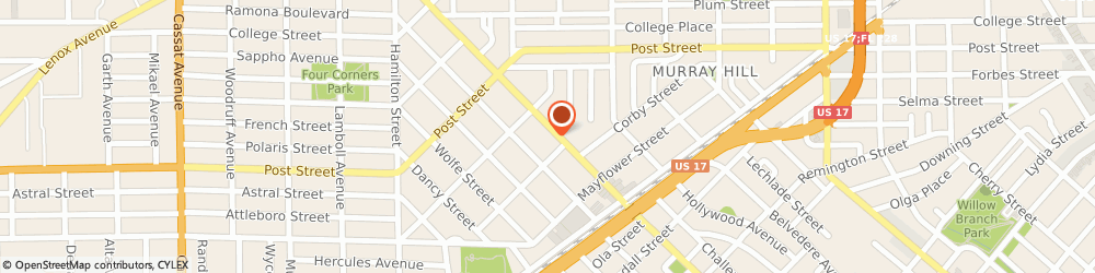 Route/map/directions to BBVA Bank, 32205 Jacksonville, 1090 Edgewood Ave S