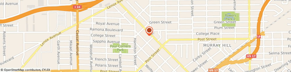 Route/map/directions to Bank of America, 32205 Jacksonville, 840 EDGEWOOD AVE S # 100