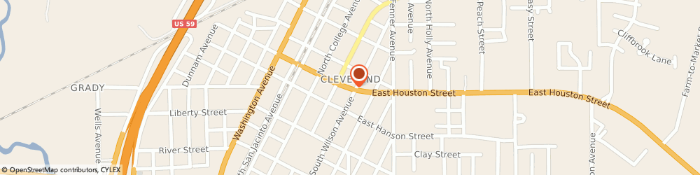 Route/map/directions to Valero CLEVELAND, 77327 Cleveland, 5069 Fm 787 Rd W Ste A