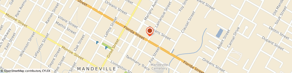Route/map/directions to NAPA Auto Parts - Parkers Auto Parts & Supply Inc, 70448 Mandeville, 1835 Florida St