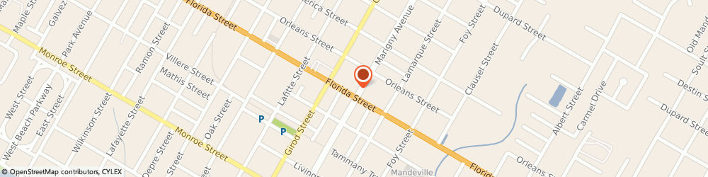 Route/map/directions to CARQUEST, 70448 Mandeville, 1903 Florida St