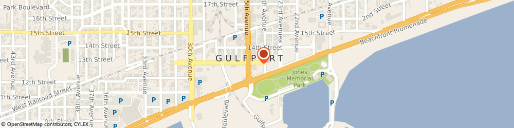 Route/map/directions to Gulf Coast Community Action Agency, Inc., 39502 Gulfport, P.O. Box 519