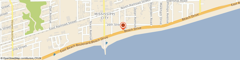 Route/map/directions to Guild W Taylor Iii Architect, 39507 Gulfport, 538 BEACH DRIVE