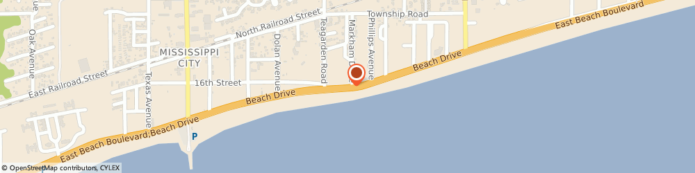 Route/map/directions to Caravelle Beachfront Inn & Suites, 39507 Gulfport, 802 BEACH DRIVE