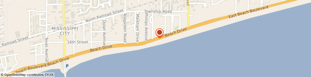 Route/map/directions to San Beach Rv Park & Apartments, 39507 Gulfport, 1020 BEACH DRIVE