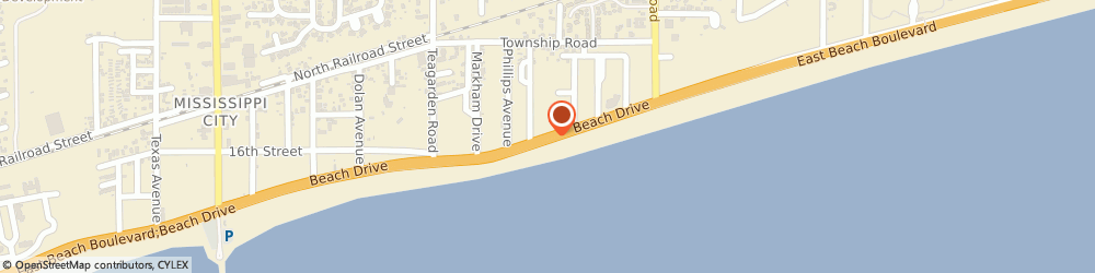 Route/map/directions to Ramada Limited Ocean Front, 39501 Gulfport, 960 BEACH DRIVE