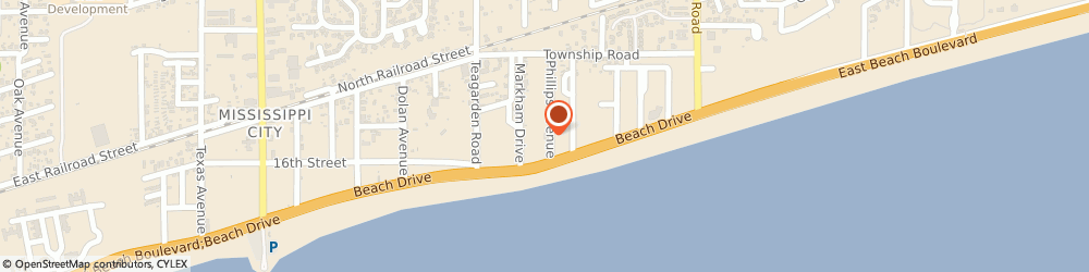 Route/map/directions to Felix's Restaurant & Oyster Bar, 39507 Gulfport, 942 Beach Drive