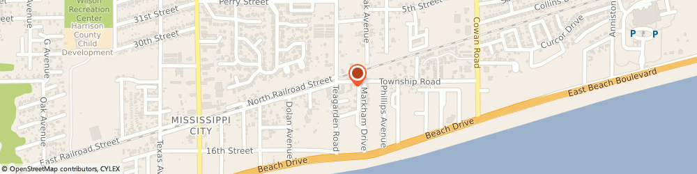 Route/map/directions to Boone's Tavern, 39507 Gulfport, 820 Township Rd
