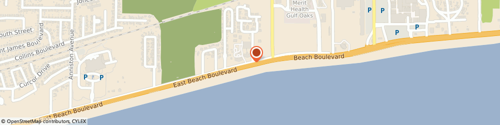 Route/map/directions to Red Lobster, 39507 Gulfport, 2400 BEACH DR