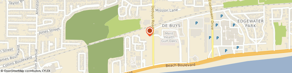 Route/map/directions to Gulf Coast Association Of Realtors, 39507 Gulfport, 141 Debuys Rd