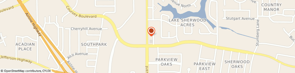 Route/map/directions to Tiger Sushi, 70816 Baton Rouge, 4611 S Sherwood Forest Blvd