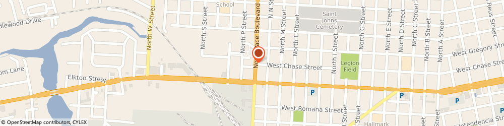 Route/map/directions to Citibank ATM, 32505 Pensacola, 75 North Pace Boulevard