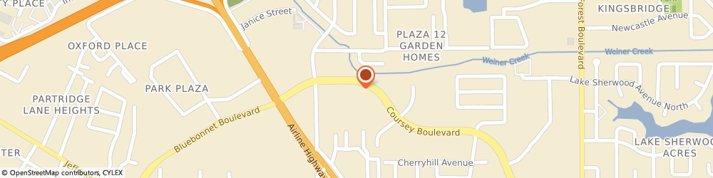 Route/map/directions to Sushi Village, 70816 Baton Rouge, 10404 Coursey Blvd