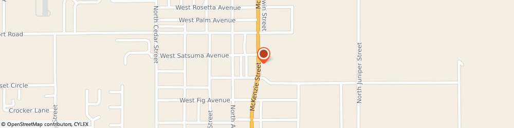 Route/map/directions to Jackson Hewitt Tax Service, 36535 Foley, 1119 NORTH MCKENZIE STREET