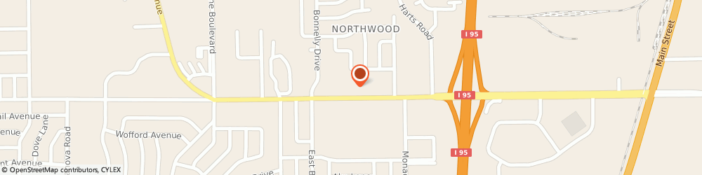 Route/map/directions to Bank of America, 32218 Jacksonville, 1055 DUNN AVE