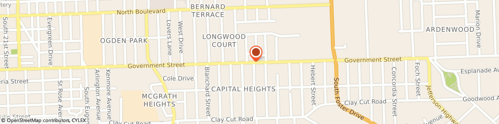 Route/map/directions to Direct Auto Insurance, 70806 Baton Rouge, 4213 Government Street Suite C