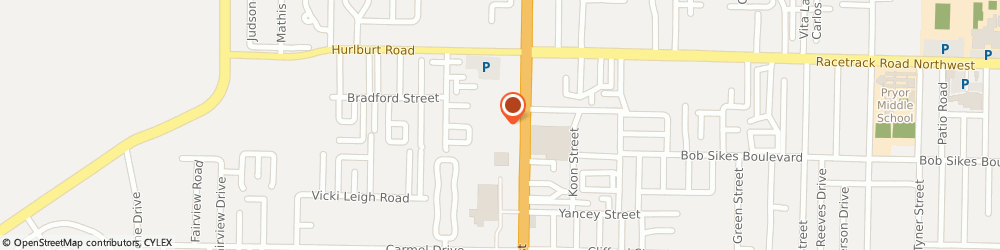 Route/map/directions to Firehouse Subs, 32547 Fort Walton Beach, 796 Beal Street