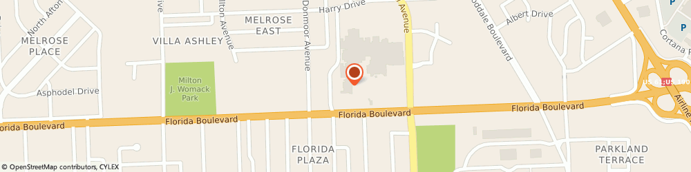 Route/map/directions to Appro Systems, 70806 Baton Rouge, 7173 FLORIDA BLVD.
