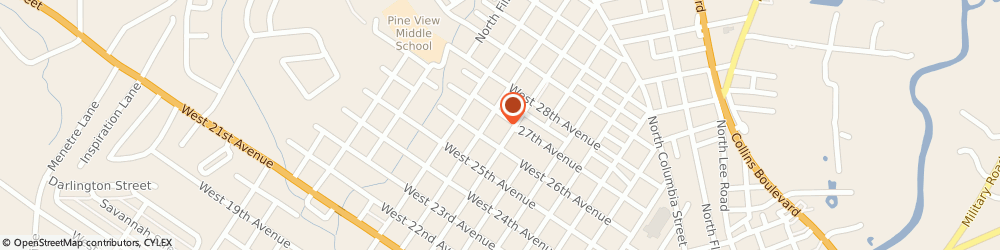 Route/map/directions to American Red Cross, 70433 Covington, 619 NORTH TYLER STREET SUITE D