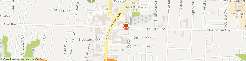 Route/map/directions to Adams Jason - All Risk Insurance Inc, 32514 Pensacola, 1913 E Olive Rd
