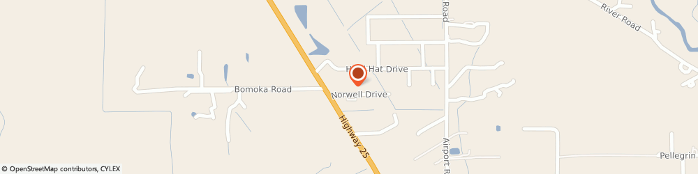 Route/map/directions to Culligan Water Conditioning, 70435 Covington, 17319 NORWELL DRIVE