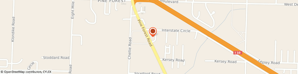 Route/map/directions to Allstate Insurance Companies, 32526 Pensacola, 7840 Pine Forest Rd Ste A