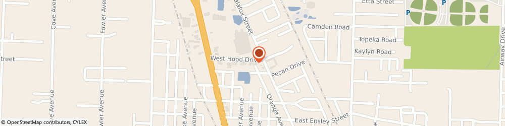 Route/map/directions to Holloway Insurance, 32534 Pensacola, 87 W Hood Dr