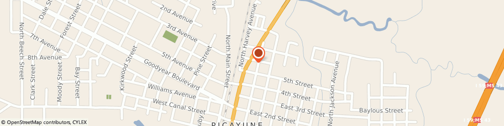Route/map/directions to H&R Block, 39466 Picayune, 512 Hwy 11 N